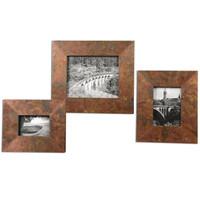 Ambrosia Copper Photo Frames S/3