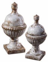 Sini Ceramic Finials, Set/2