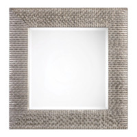 Cressida Distressed Silver Square Mirror