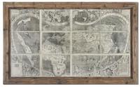 Treasure Map Framed Art