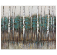Edge Of The Forest Canvas Art