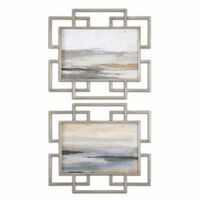 Gray Mist Framed Art S/2