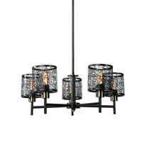 ThinAlita 5 Light Bronze Chandelier