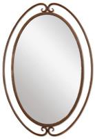 Kilmer Wrought Iron Mirror