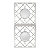 Yasmina Silver Square Mirrors Set/2