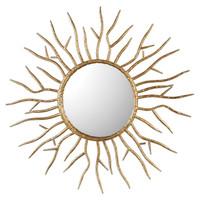 Astor Gold Starburst Mirror