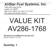 AV286-1768 Major Repair Kit