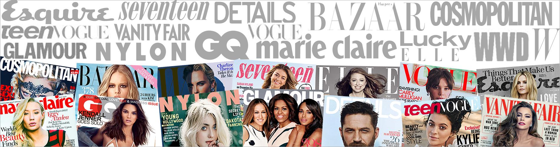 Fashion magazine subscription banner