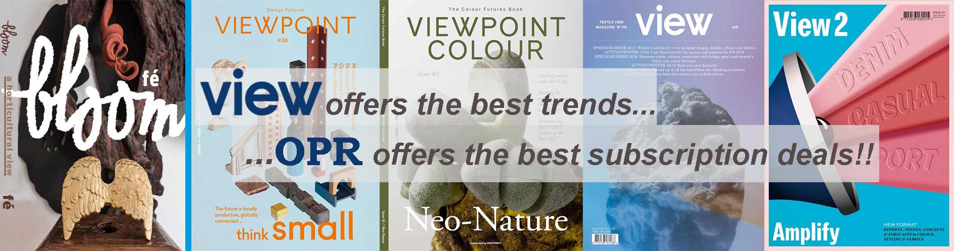 View Magazine Specials