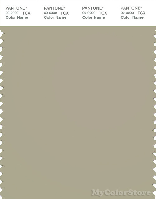 PANTONE SMART 15-0309X Color Swatch Card, Spray Green