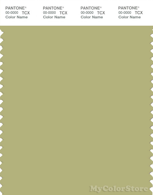 PANTONE SMART 15-0525X Color Swatch Card, Willow Green