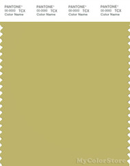 PANTONE SMART 15-0636X Color Swatch Card, Golden Green