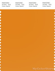 PANTONE SMART 15-1150X Color Swatch Card, Cheddar Cheese