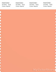 PANTONE SMART 15-1331X Color Swatch Card, Coral Reef