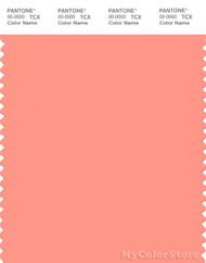 PANTONE SMART 15-1435X Color Swatch Card, Desert Flower