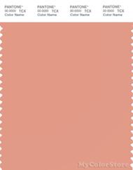 PANTONE SMART 15-1523X Color Swatch Card, Shrimp