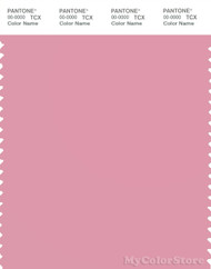 PANTONE SMART 15-1912X Color Swatch Card, Sea Pink