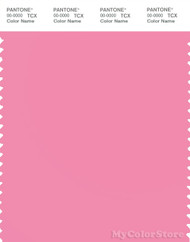 PANTONE SMART 15-2216X Color Swatch Card, Sachet Pink