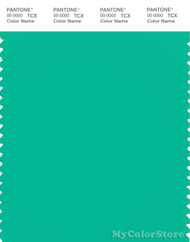 PANTONE SMART 15-5728X Color Swatch Card, Mint Leaf