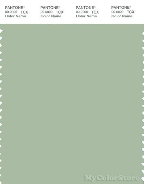 Pantone smart 15 6315 tcx color swatch card pantone Sage green pantone