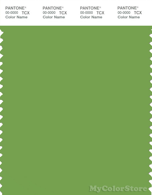 PANTONE SMART 16-0237X Color Swatch Card, Foliage