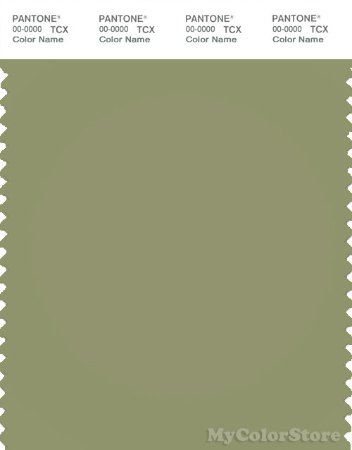 PANTONE SMART 16-0421X Color Swatch Card, Sage