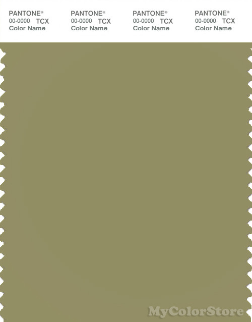 PANTONE SMART 16-0526X Color Swatch Card, Cedar