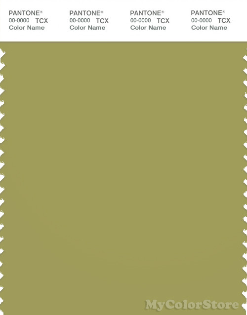 PANTONE SMART 16-0532X Color Swatch Card, Moss