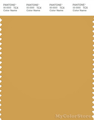 PANTONE SMART 16-0947X Color Swatch Card, Bright Gold
