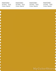 PANTONE SMART 16-0952X Color Swatch Card, Nugget Gold