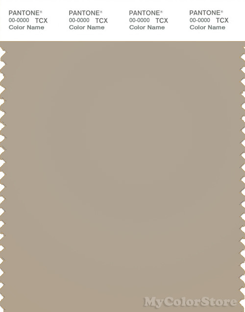 Pantone smart 16 1105 tcx color swatch card pantone for What is taupe color look like