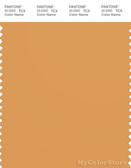 PANTONE SMART 16-1142X Color Swatch Card, Golden Nugget