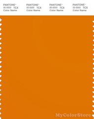 PANTONE SMART 16-1164X Color Swatch Card, Orange Pepper