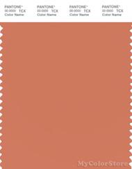 PANTONE SMART 16-1435X Color Swatch Card, Carnelian