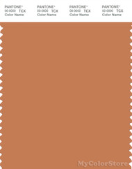 PANTONE SMART 16-1439X Color Swatch Card, Caramel