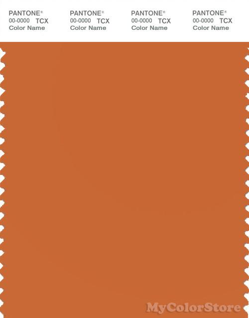 pantone smart 16-1448 tcx color swatch card | pantone burnt orange