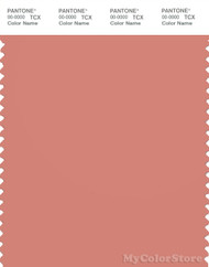 PANTONE SMART 16-1526X Color Swatch Card, Terra Cotta