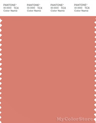 PANTONE SMART 16-1532X Color Swatch Card, Crabapple