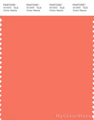 PANTONE SMART 16-1541X Color Swatch Card, Camellia