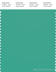 PANTONE SMART 16-5721X Color Swatch Card, Marine Green