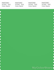 PANTONE SMART 16-6444X Color Swatch Card, Poison Green