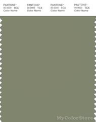 PANTONE SMART 17-0115X Color Swatch Card, Oil Green