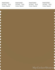 PANTONE SMART 17-0935X Color Swatch Card, Dull Gold