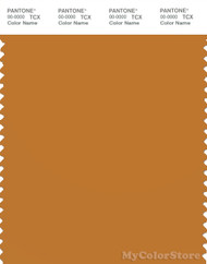 PANTONE SMART 17-1046X Color Swatch Card, Golden Oak