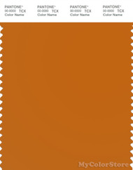 PANTONE SMART 17-1140X Color Swatch Card, Marmalade
