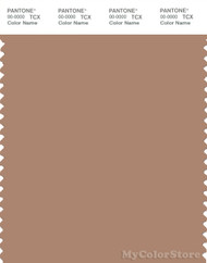 PANTONE SMART 17-1226X Color Swatch Card, Tawny Brown