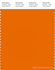 PANTONE SMART 17-1349X Color Swatch Card, Exuberance