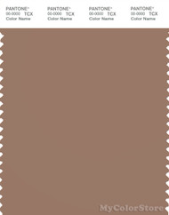 PANTONE SMART 17-1417X Color Swatch Card, Beaver Fur