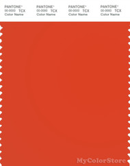 PANTONE SMART 17-1463X Color Swatch Card, Tangerine Tango