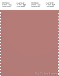 PANTONE SMART 17-1518X Color Swatch Card, Old Rose